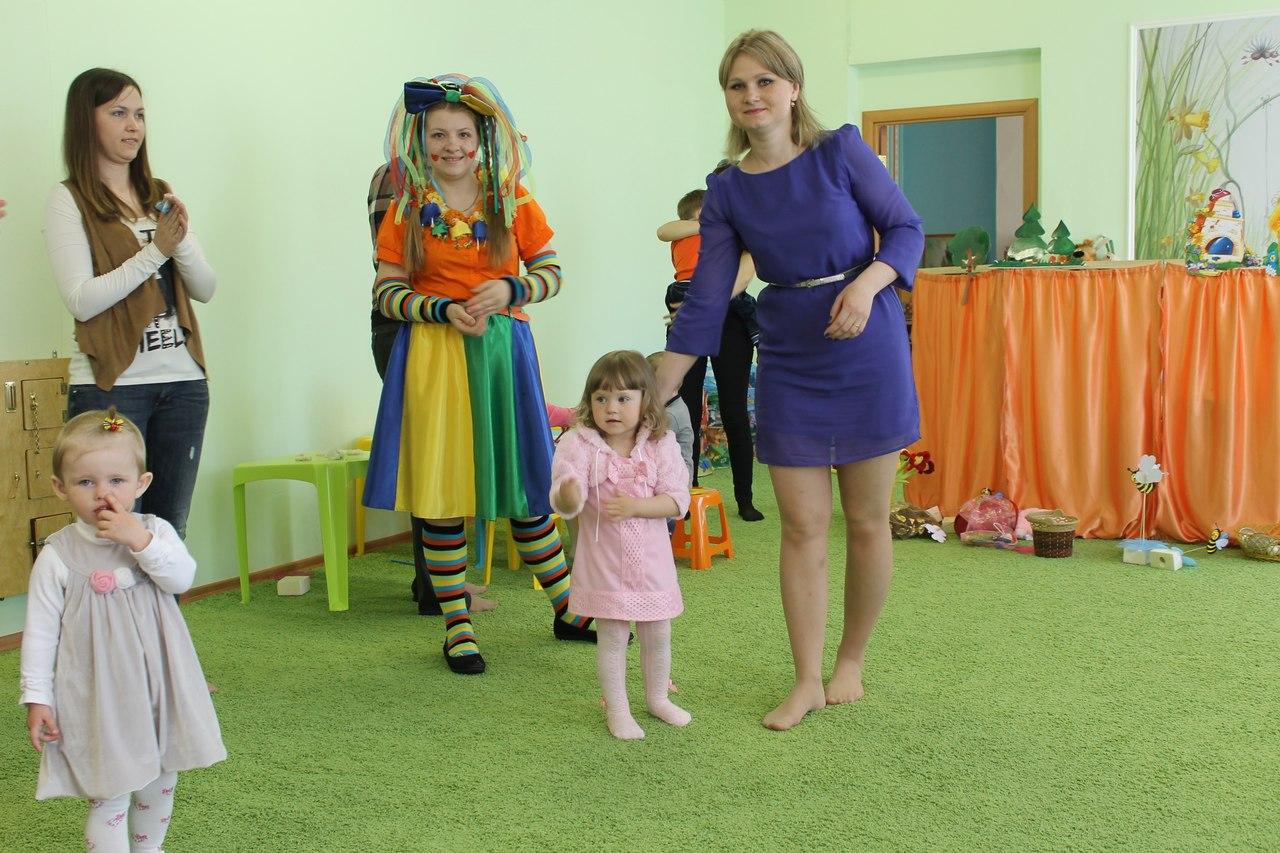 Фото детей в развивающем центре