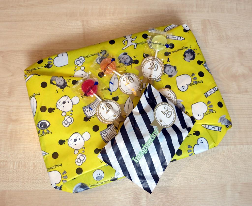 Подарочно-леденцовая упаковка игрушек от Imaginarium