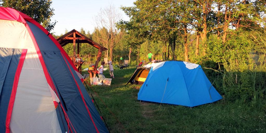 Отдых на природе с палатками в Орле