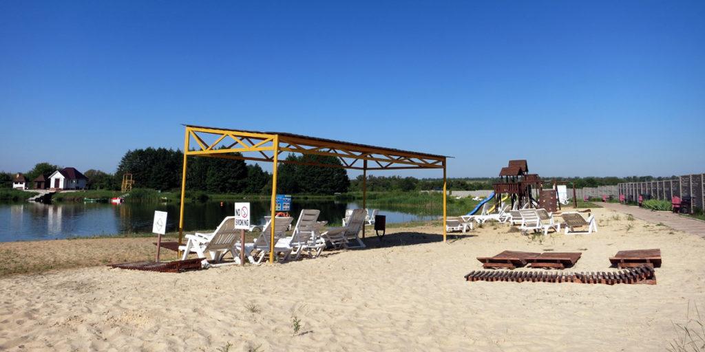 Пляж в Орле