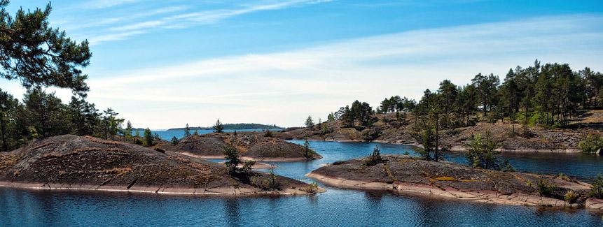 Поход с детьми в Карелию к Ладожскому озеру и шхерам