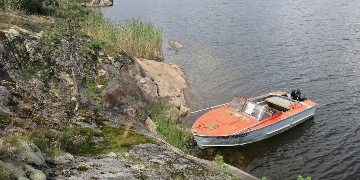 базы в карелии с лодками