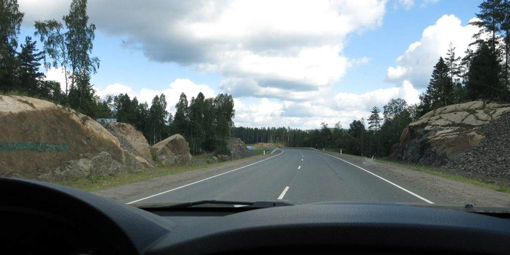 Начались карельские дороги