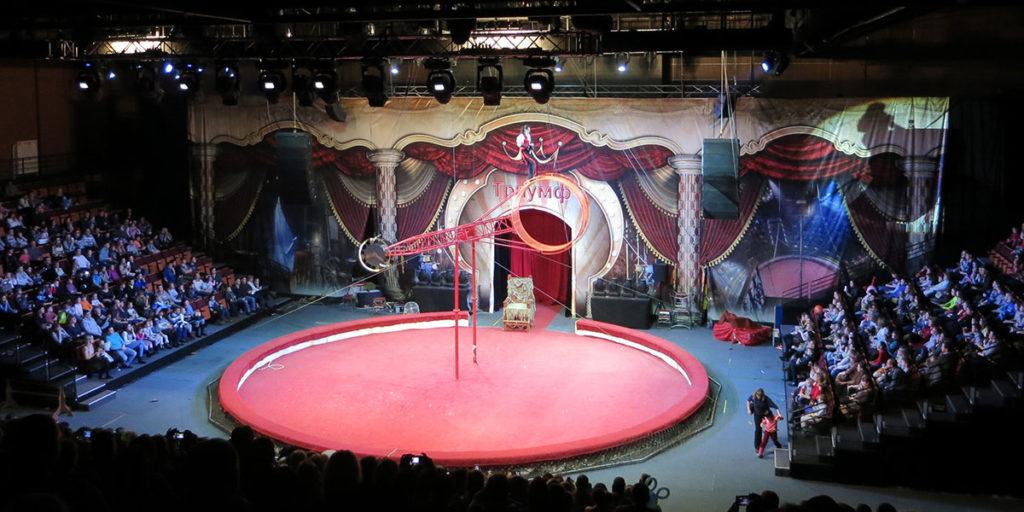 """Цирк """"Карнавал животных"""" в Орле"""