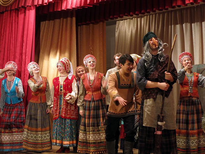 Новогоднее представление Морозко - Филармония в Орле 3