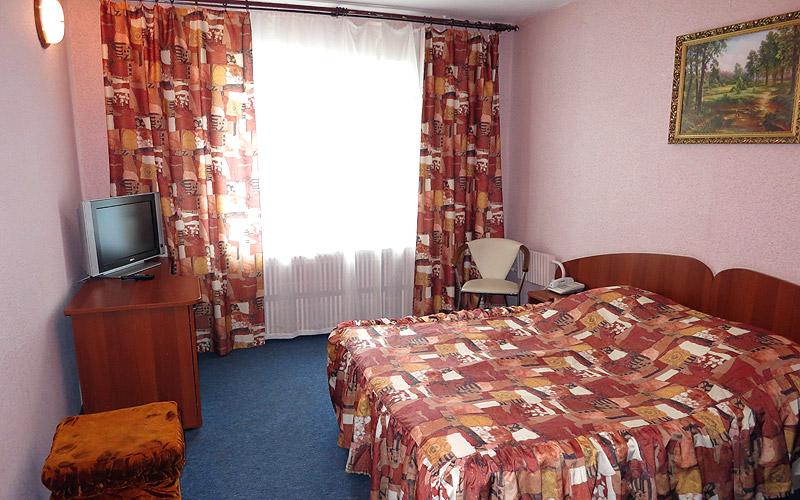 Спальная комната в номере