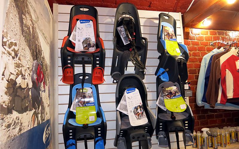 Купить детское велокресло в Орле