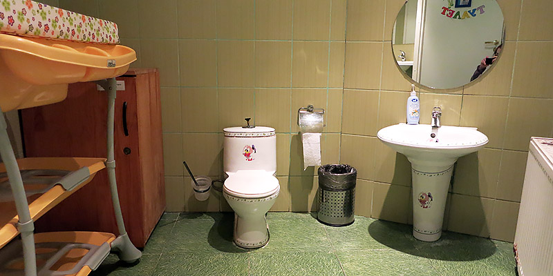 Детский туалет