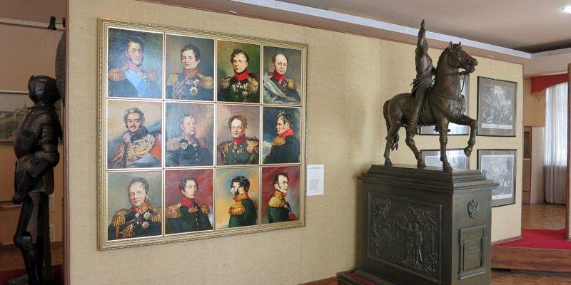 Экспозиция военно-исторического музея в Орле