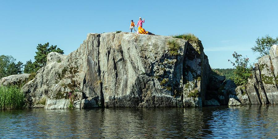 Отдых с детьми в Карелии на островах Ладожского озера