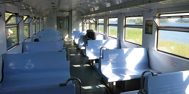 Электричка из Санкт-Петербурга до Карелии до станции Кузнечное