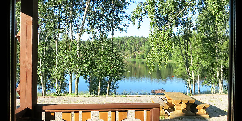База отдыха Канапелька в Карелии на берегу Ладожского озера