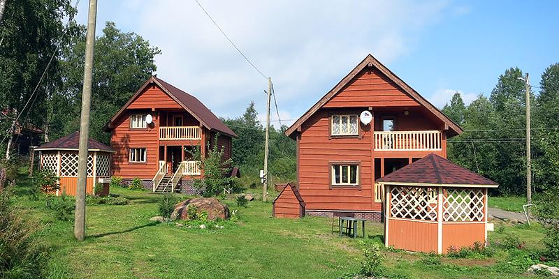 База отдыха Бояринов двор в Карелии на берегу Ладожского озера