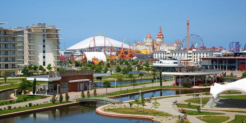 Поездка в Сочи Парк Отель на Черное море