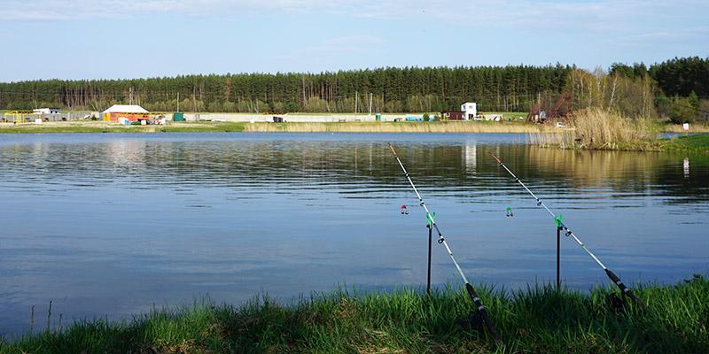 Рыбалка на Шаховском пруду, недалеко от Орла