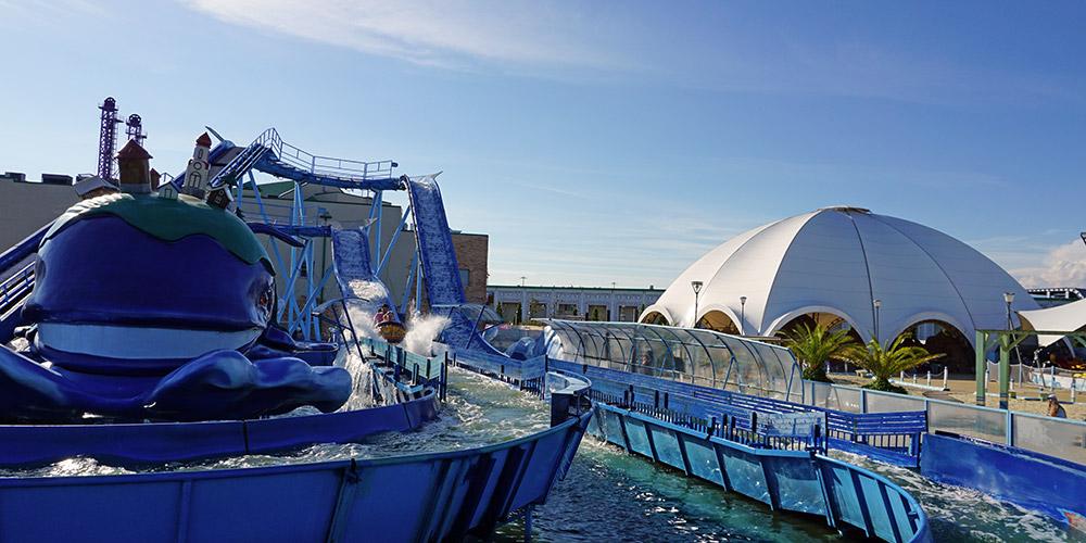 Морской аттракцион Чудо-юдо Рыба-кит