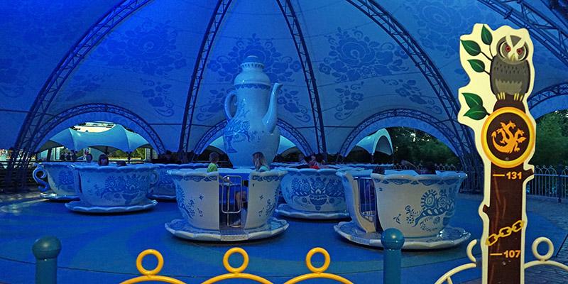 Аттракцион Чайные чашки