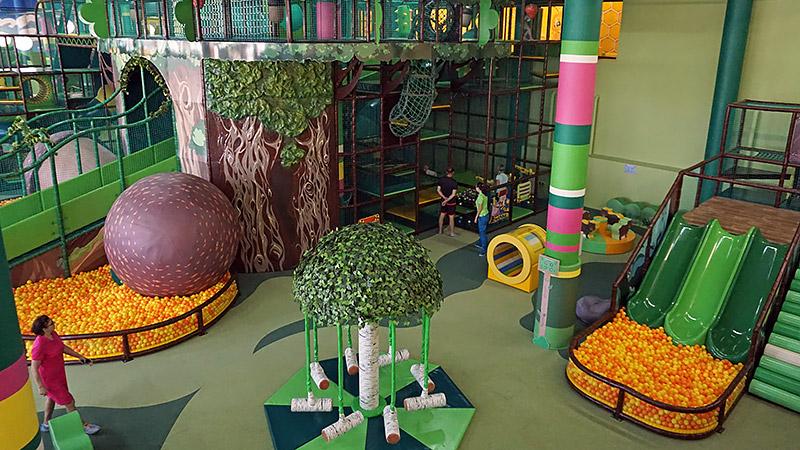 Детская площадка Страна Медведия Сочи Парк