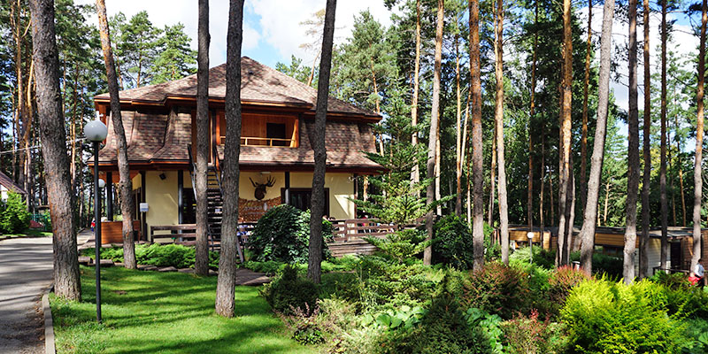 Парк-отель Донской лес в Липецкой области