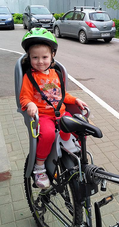 Детское велокресло Hamax