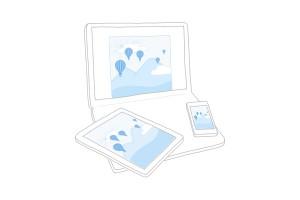 DropBox - высокотехнологичный семейный фотоархив онлайн.