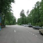 Вместительная парковка