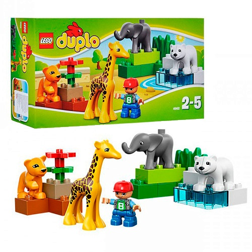 Лего Дупло Зоопарк для малышей в Орле