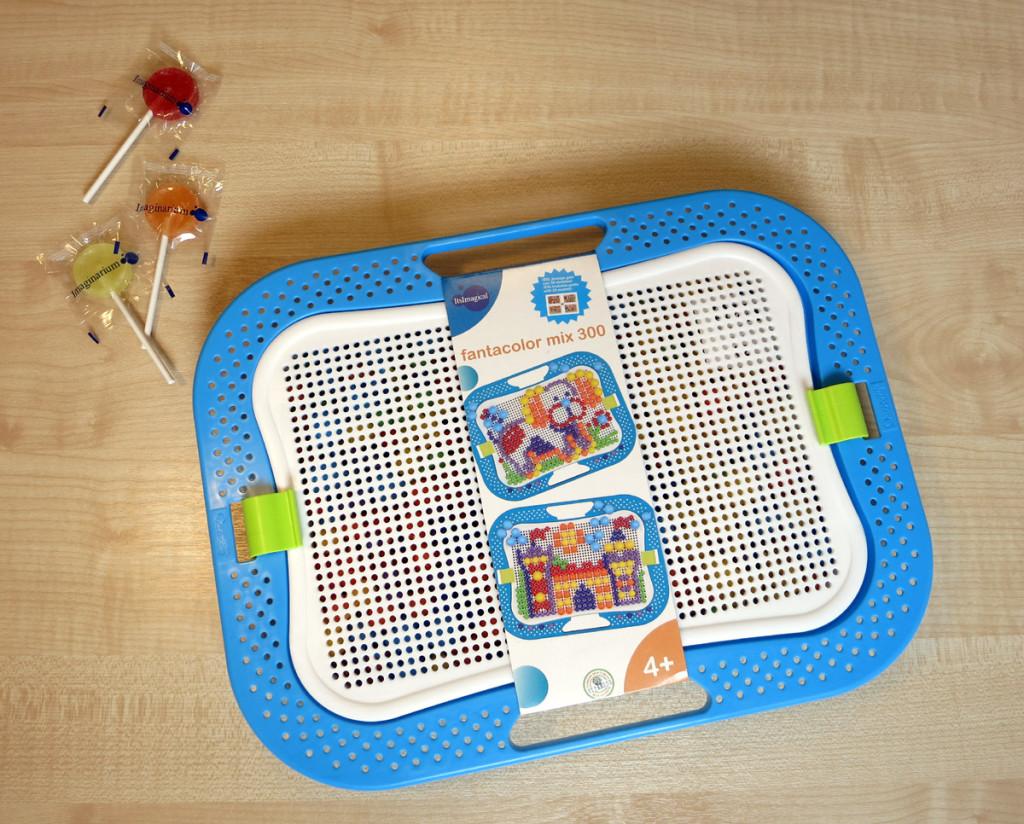 Универсальная игрушка мозаика. Made in Italy.