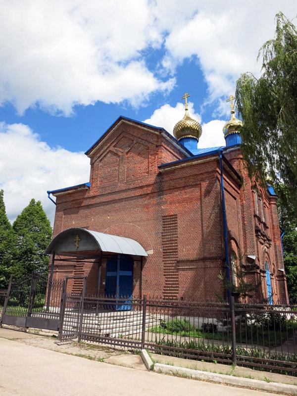 Церковь Покрова Пресвятой Богородицы в Клейменово