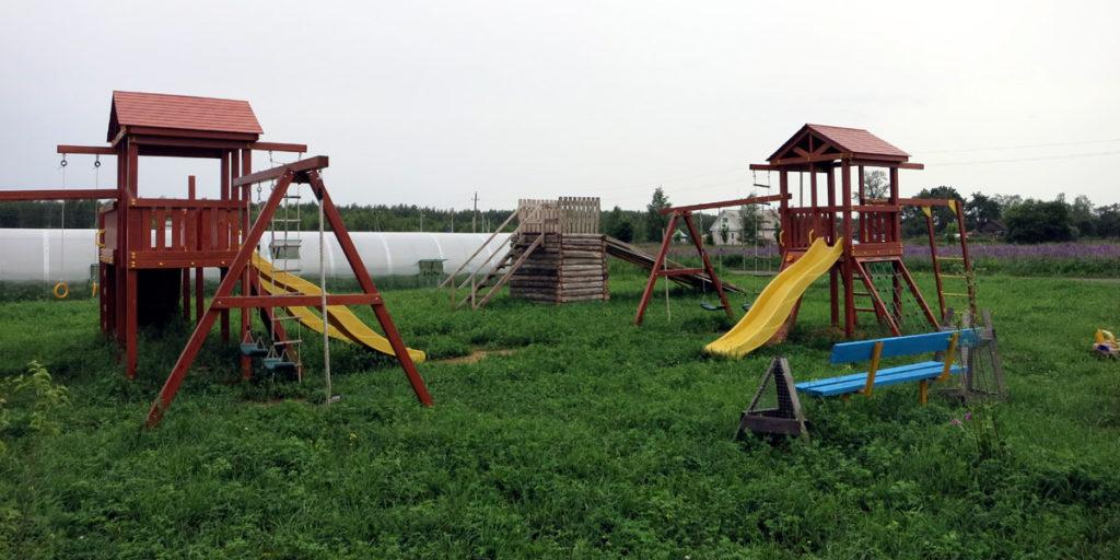 Детский уголок в Орловском полесье