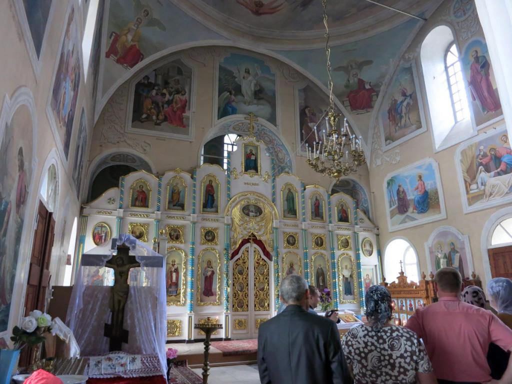 Крещение в Церкви Покрова в Клейменово