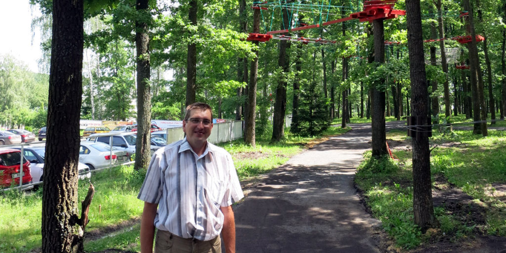 Игорь Савушкин, менеджер экстрим парка