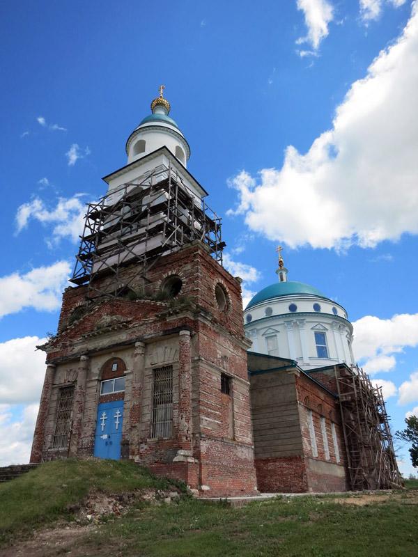 Храм Казанской иконы Божьей Матери в Паслово