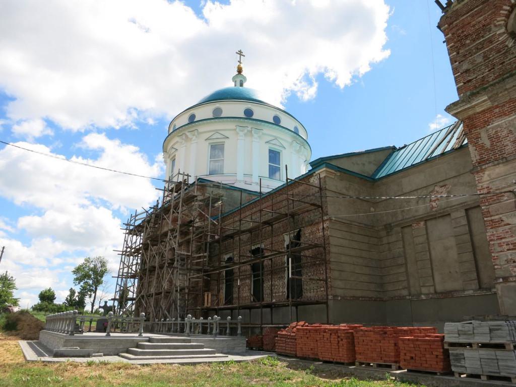 Церковь в Паслово
