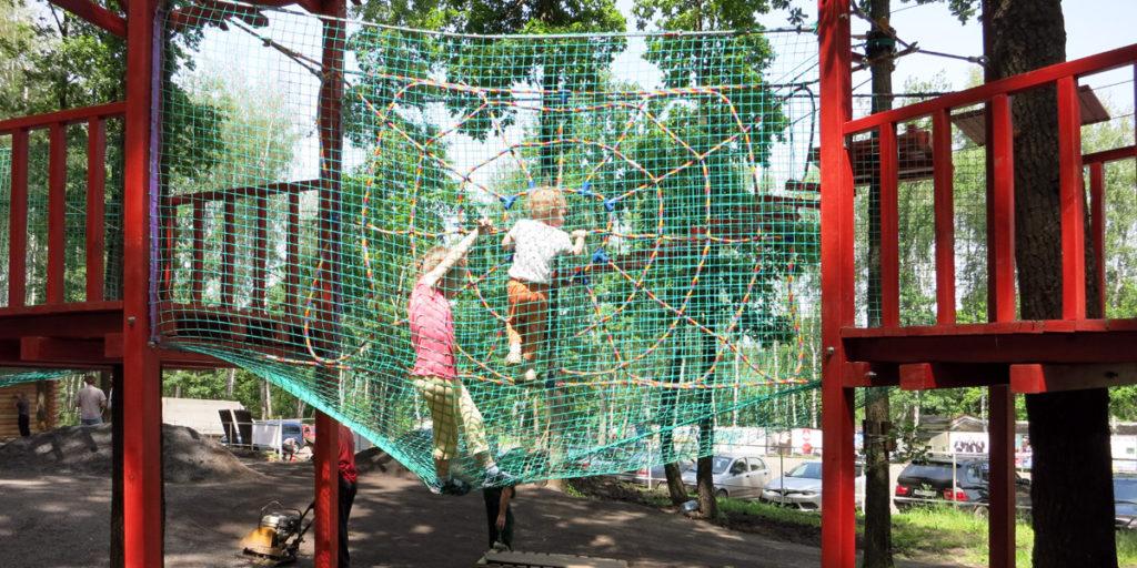 Детская веревочная трасса Робин Гуд в Мечте