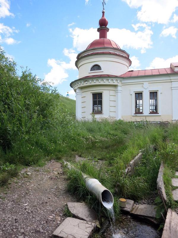 Святой источник в Паслово Орловской области