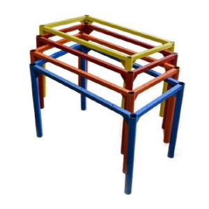 Каркасы столов. Порошковая окраска позволяет получить изделие любого цвета