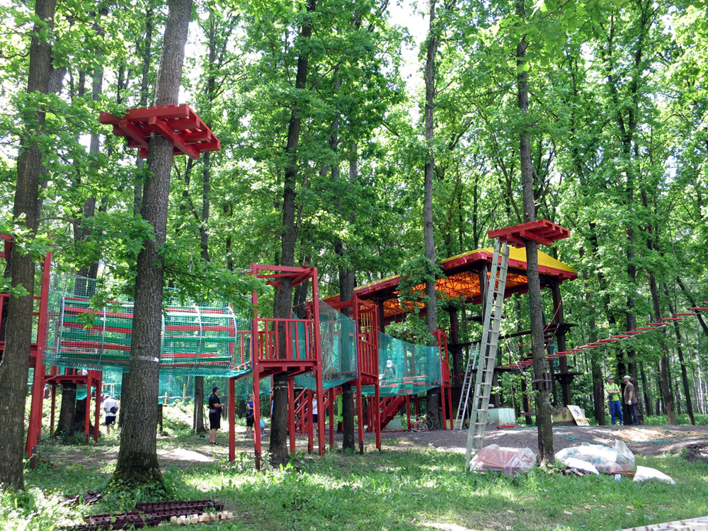 Экстрим парк в Орле
