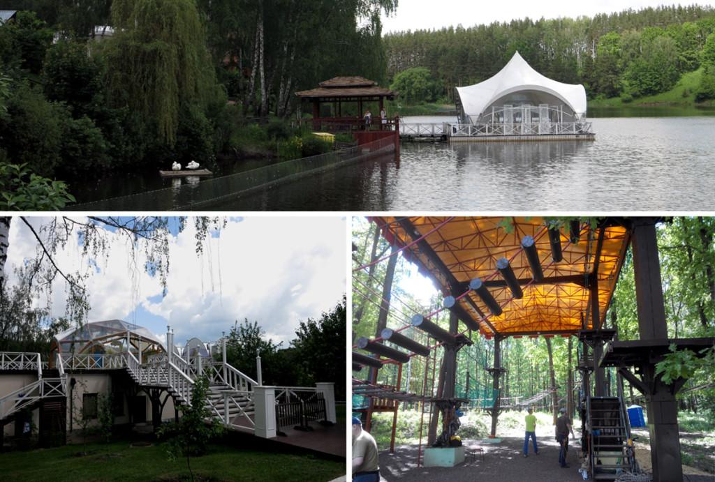 """Парк-отель """"Мечта"""" в летнем сезоне 2016"""