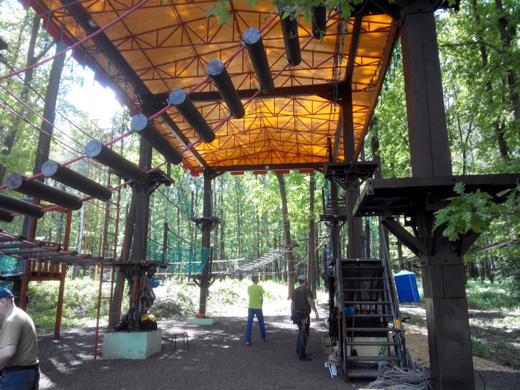 Веревочный парк в Орле