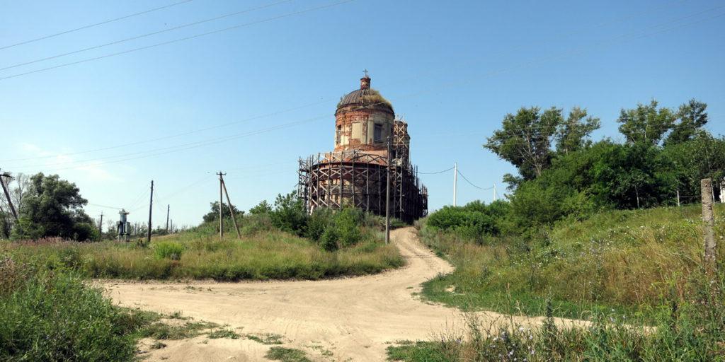 Церковь Благовещения пресвятой Богородицы в селе Альшань