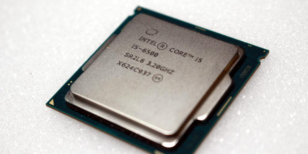 Современный процессов Intel Core i5