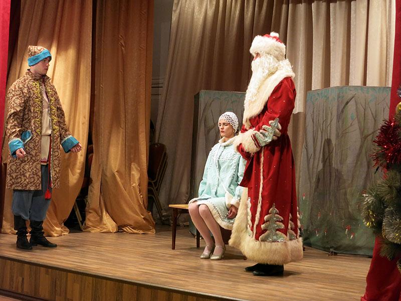 Новогоднее представление Морозко - Филармония в Орле 1