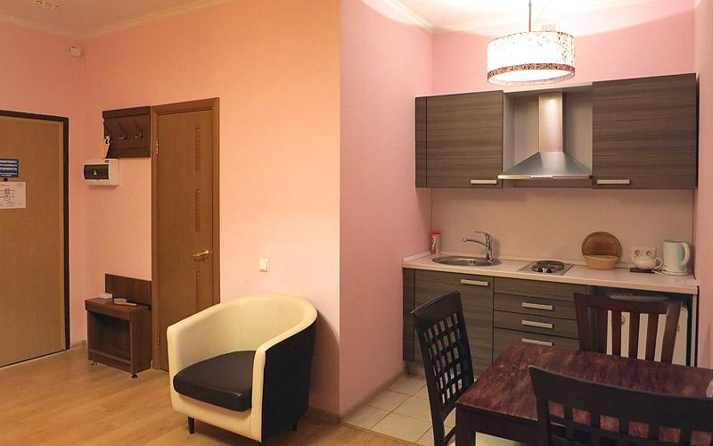 Кухня в семейном номере