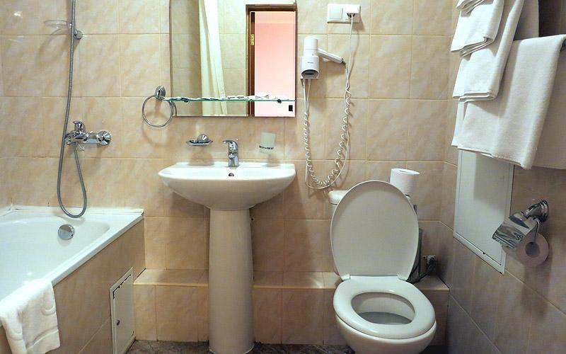 Санузел туалет в номере
