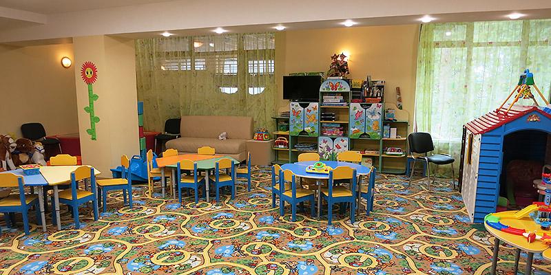 Детская комната с педагогом