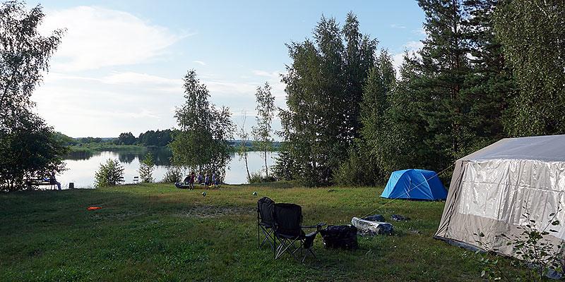 Отдых в палатках в Орле