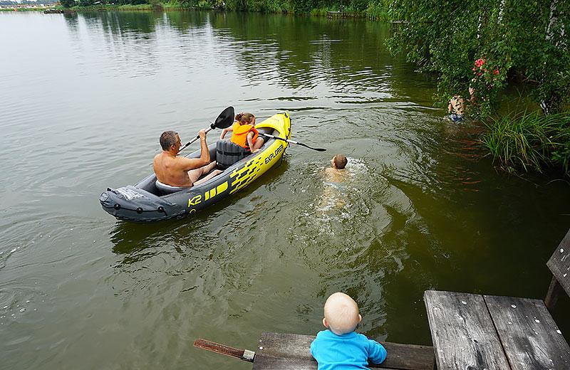 Водный туризм, каякинг, поход на байдарках в Орловской области
