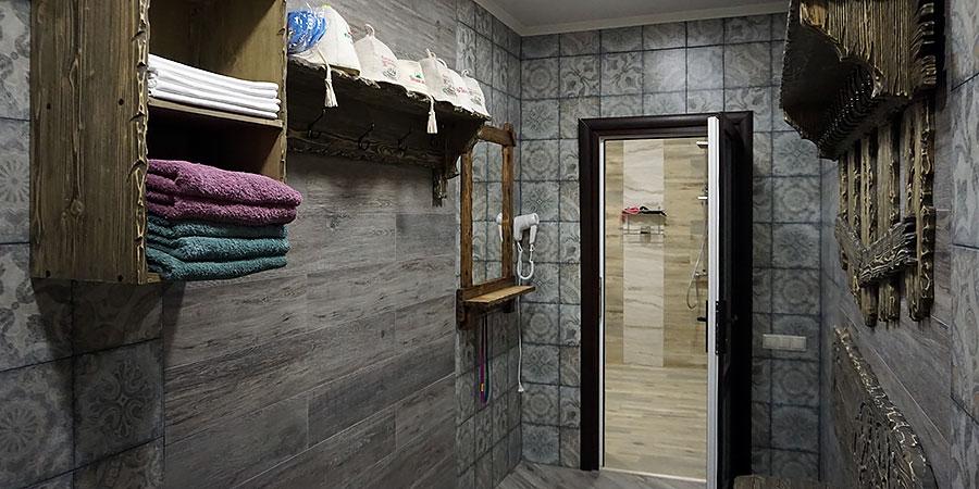 Интерьер банного комплекса