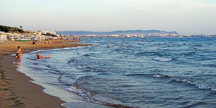 Черное море в Анапе Джемете